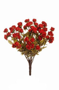 Immagine di Bush rose, rosso, H40cm