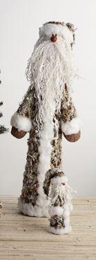 Immagine di Stelo Santa Claus,  h.cm100