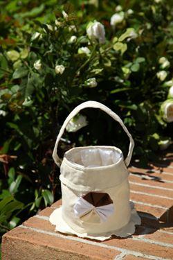 Picture of Cestello con manico+int.plast,naturale, tessuto,D13xH15cm