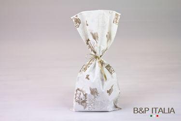 Immagine di Sacchetti 20x40 PL, 100pz PRESEPE bianco/champagne