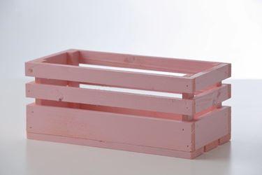 Immagine di Cassetta legno cipria, 30x15xh.15cm