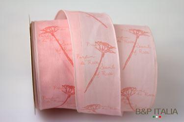 Immagine di Nastro h.mm40, 20metri PROFUMO DI ROSA rosa