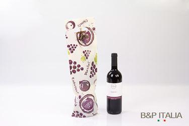 Picture of Shopper 1 bott.,HD,cm16,5x50h,PROFUMO D'UVA, prugna,prof,c/m fag.100my