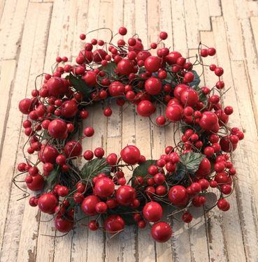 Immagine di Corona berries,rosso, diam.20cm