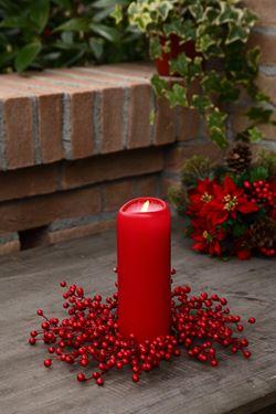 Immagine di Corona bacche,rosso, diam.25cm