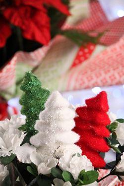 Immagine di Pick albero di Natale rosso cm12