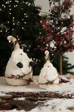 Immagine di Santa Claus bianco,  h.cm22