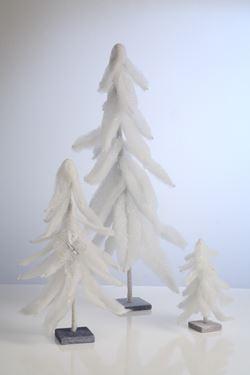 Immagine di Albero bianco grande, h. cm 75