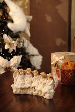 Immagine di 5 angeli seduti pol.bia.h28.5