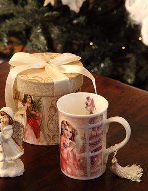 Immagine di Box regalo tazzina mug ANGEL D12.3xH11.2 cm