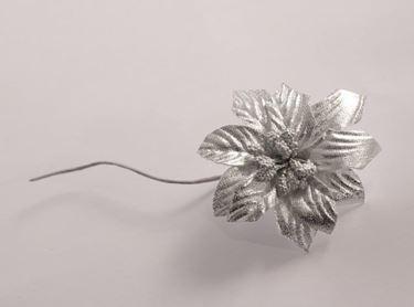 Immagine di Pick stella natale, argento, h.13cm