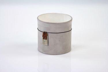 Immagine di Contenitore ecosostenibile, waterproof, grigio chiaro, d13xh13cm