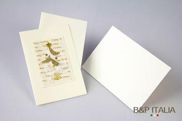 Immagine di Biglietto Albero di Natale cm10x15