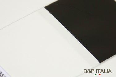 Immagine di Bobina h.100cm BICOLORE, nero/bianco, 30y
