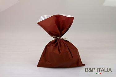 Immagine di Sacchetti 35xh.50 Perlato MONOST. BASE bordeaux, 100 pezzi