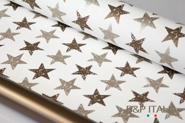 Picture of Bobina, Perlato,  h.cm100, STARS, bronzo/platino
