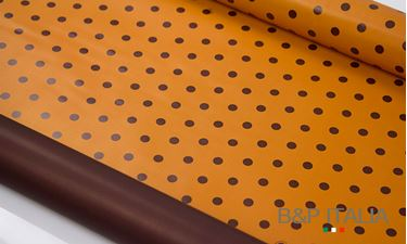 Immagine di Plastic roll GRAND POIS,orange/brown, scen.orange and cinnamon,30yardes