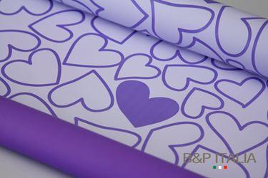 Immagine di Bobina PLB h.cm 100, 60m TRUE LOVE lilla