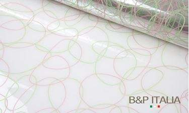 Picture of Bobina, PPM, NO CIRCLE, cipria/verde, h.100cm