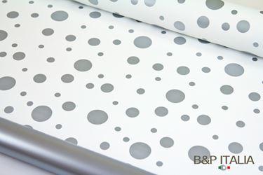 Immagine di Bobina PLB h.cm 100,60m BUBBLE bianco/argento