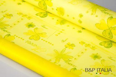 Immagine di Bobina PLB h.cm 100, 60 metri CHELSEA giallo/verde