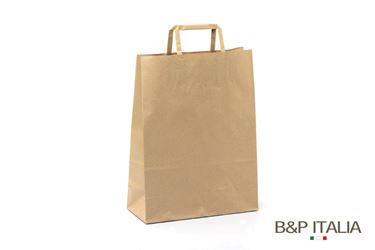 Immagine di Shopper 22x10xh.29 90gr BIOKraft AVANA piattina