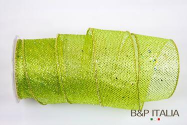 Picture of Nastro h.mm 65, 15m JASPER verde/oro