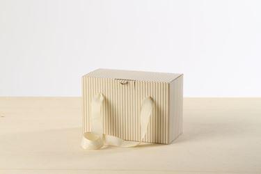 Picture of Box 30x18x30h MARINES  panna/sabbia steso