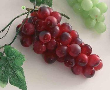 Immagine di Grappolo uva Bordeaux h.19cm