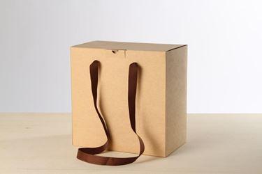 Picture of Box 30x18x30h NEUTRO avana esterno steso
