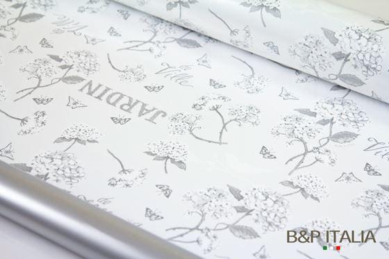 Immagine di Bobina PLB h.cm 100, 60 mlHYDRANGEA grigio/argento