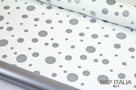 Immagine di Bobina PLB h.cm 100,60mBUBBLE bianco/argento
