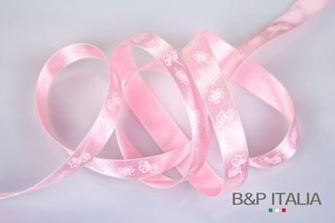 Immagine di Nastro h.15mm, 20mGELSOMINO rosa PROFUMATO