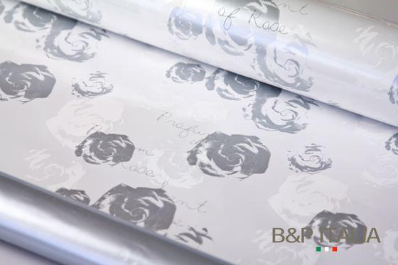 Picture of Bobina, PL2B, h 100cm, prof.rosa,PARFUME ROSE,  bianco/argento