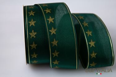 Picture of Nastro h.40mm 20m STELLINA verde