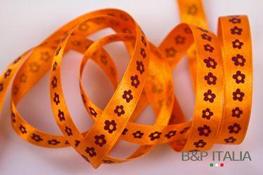 Picture of Na PETIT FLEUR h.15mm 20m arancio/bordeaux