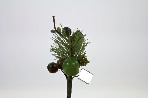 Immagine di Mini pick, verde con specchi,  cm 10