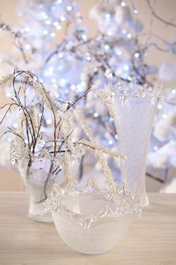 Picture of Ciotola Crystal in vetro opaco D24cm, H15cm