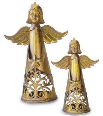 Immagine di Angelo oro piccolo, 21 cm