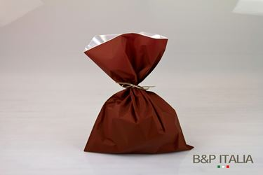 Picture of Sacchetti 35xh.50 Perlato MONOST. BASE bordeaux, 100 pezzi