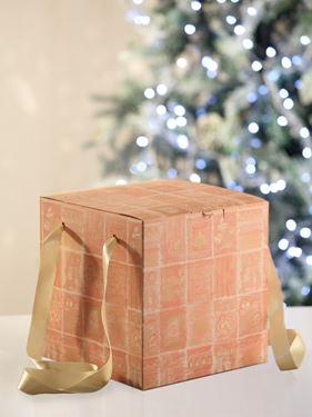Picture of Box 24x24x24h ROSETO rosa steso