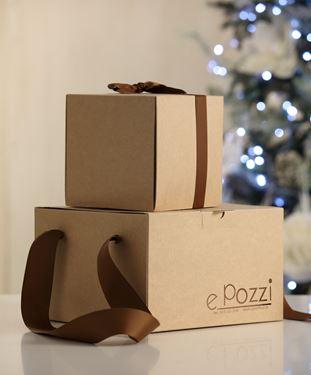 Picture of Box 24,5x24,5x15h, NEUTRO avana esterno steso