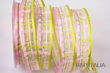Immagine di Nastro CARLOS h.25mm,  20m, anim, rosa