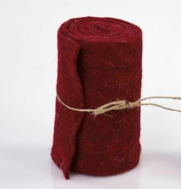Immagine di WOOL BORDEAUX h.15cmx5m