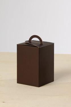 Picture of Box FULL marrone scuro 10x10x15h steso