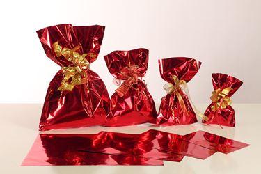 Picture of Sacchetti cm 20x35h Metall monost.rosso lucido