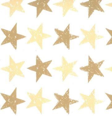 Immagine di Box 24,5x24,5x15h, STARS nocciola/oro, steso