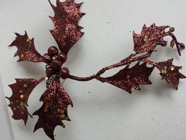 Immagine di Pick agrifoglio marrone,h.cm18