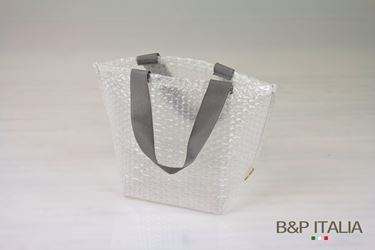 Picture of Borsa, PLURIBALL,h23x19x14,5, manico grigio