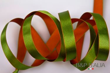Picture of Nastro h.15mm, 20mSATURNO verde/arancio